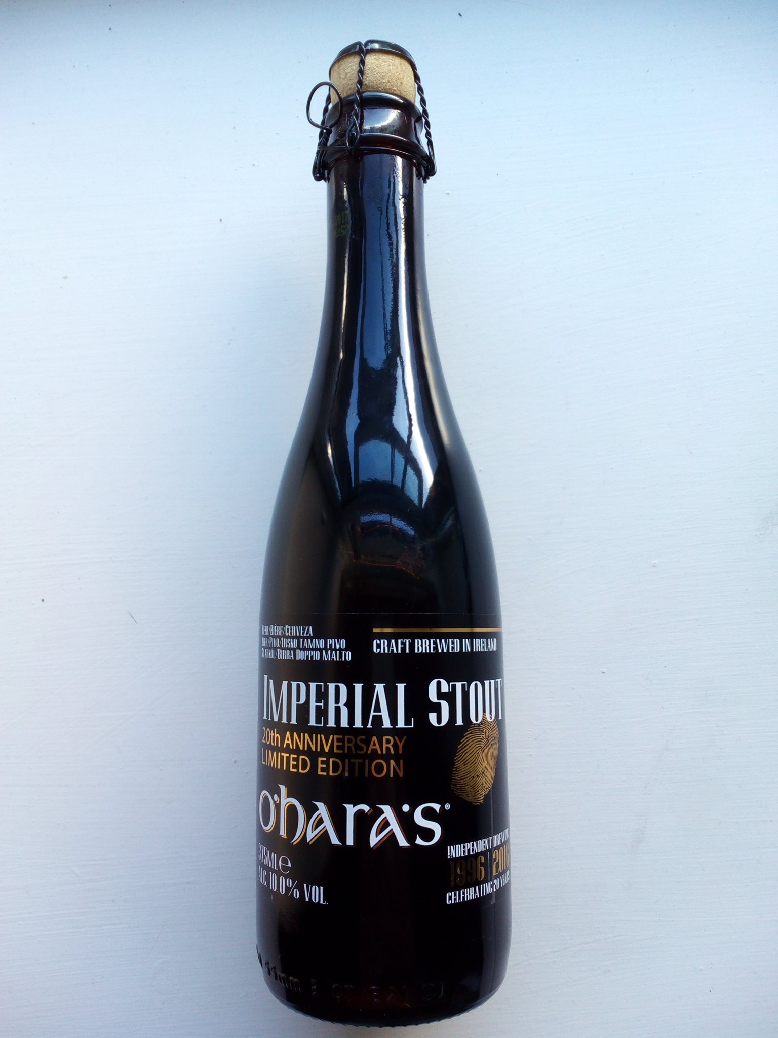 O'HARA'S IMPERIAL STOUT