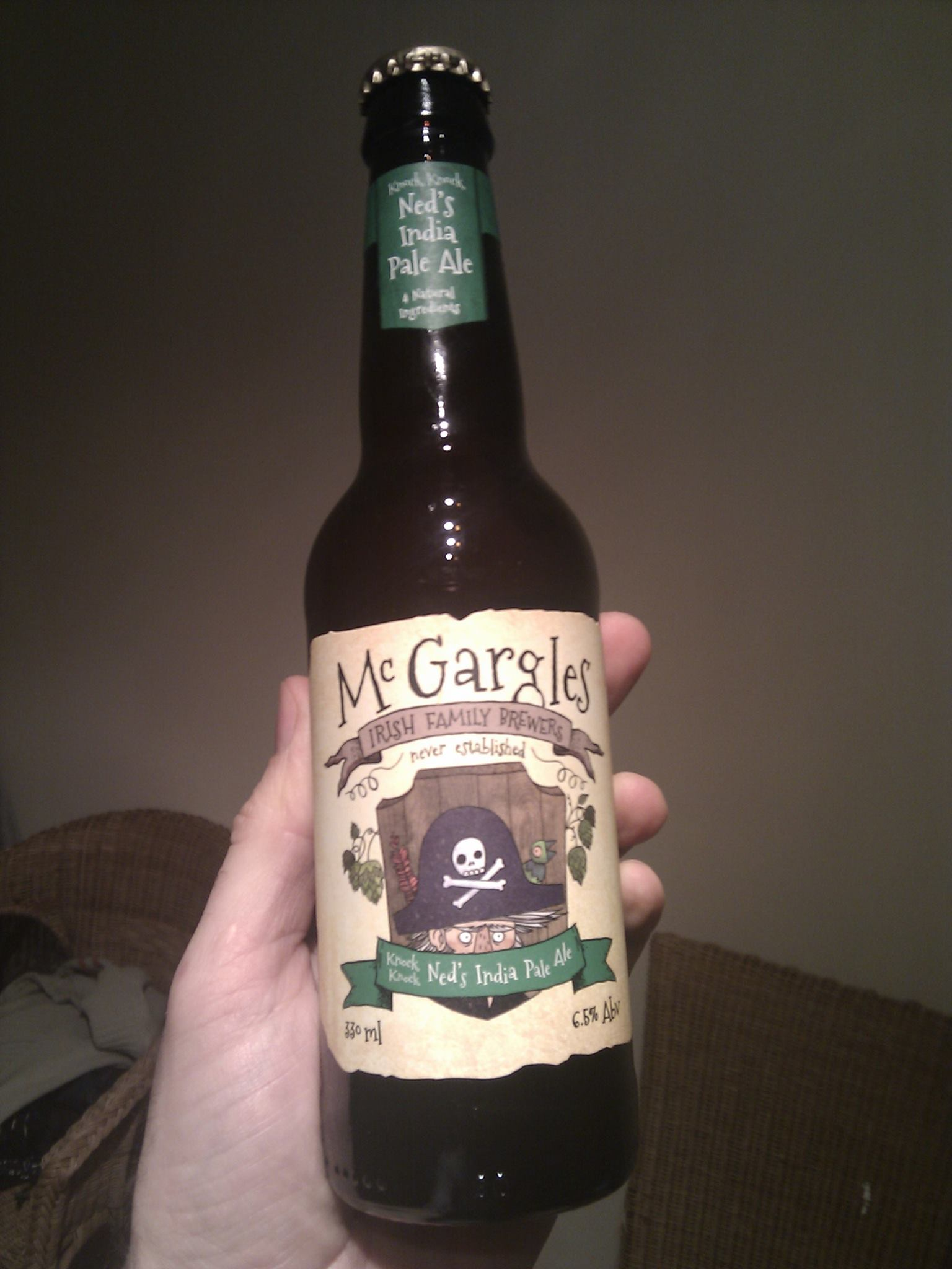 McGargles Knock Knock Ned's India Pale Ale