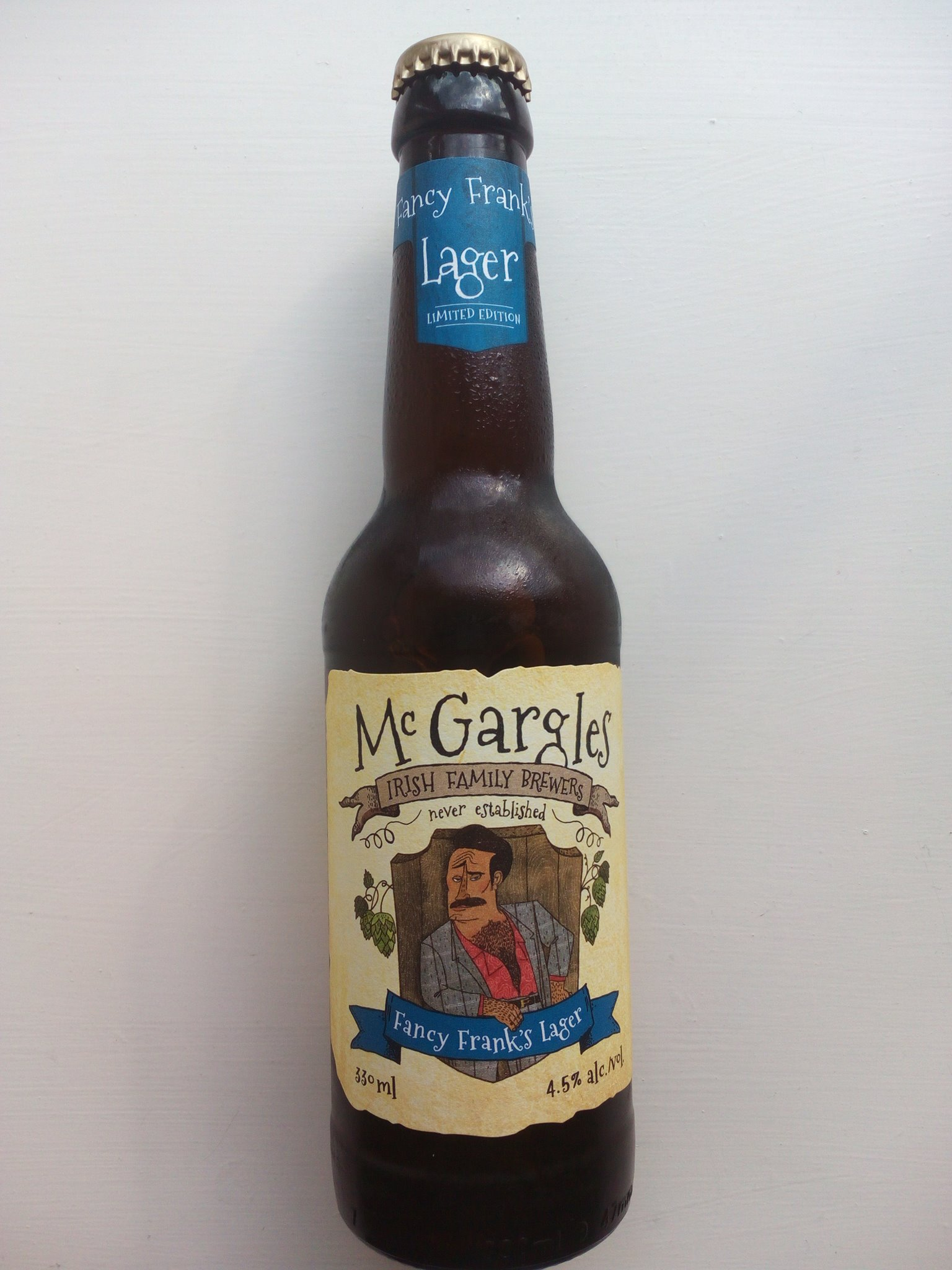 McGargles Fancy Franks Lager