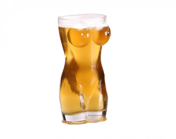 Sexy Female Beer Glass 700ml