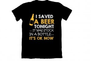 I Saved A Beer
